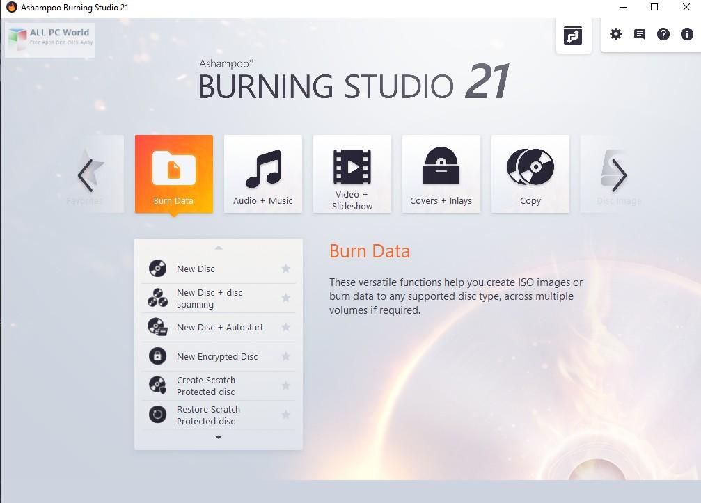 Ashampoo Burning Studio 21.0 Downoad