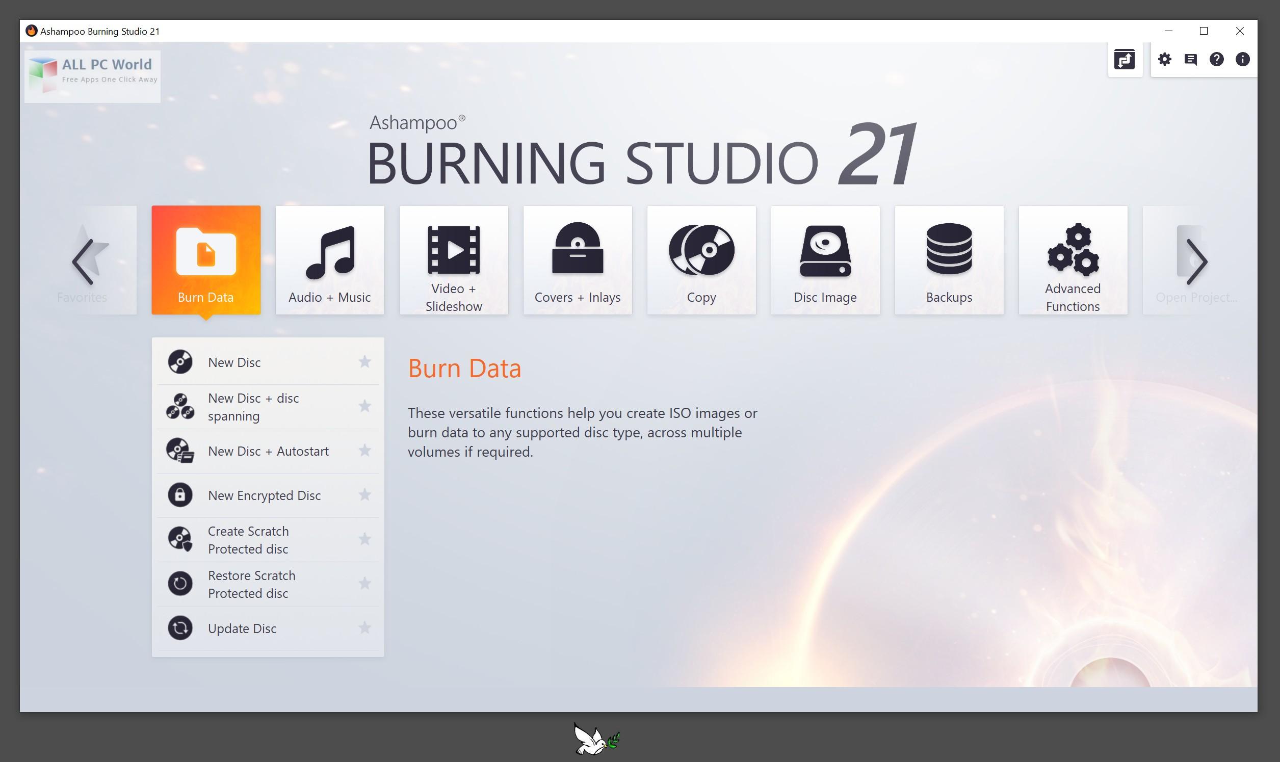 Ashampoo Burning Studio 21.0