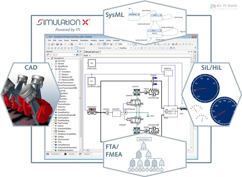 ESI SimulationX Pro 4.1 Free Download