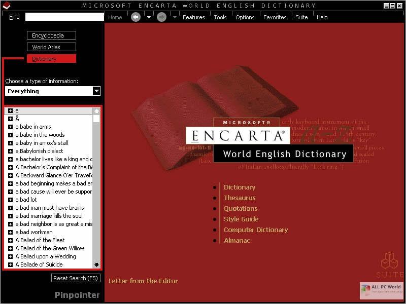 Encarta Dictionary