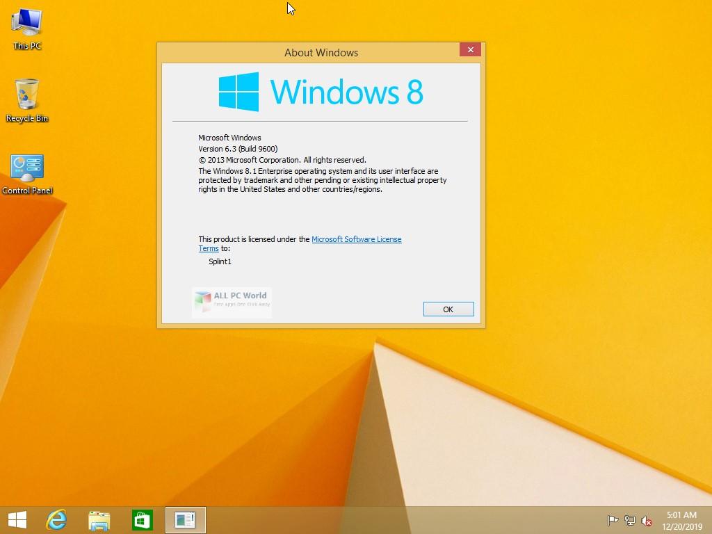 Windows 8.1 AIO December 2019 Download