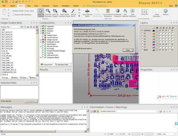 ANSYS Electronics Suite 2020 R1 with MCAD Translators Free Download