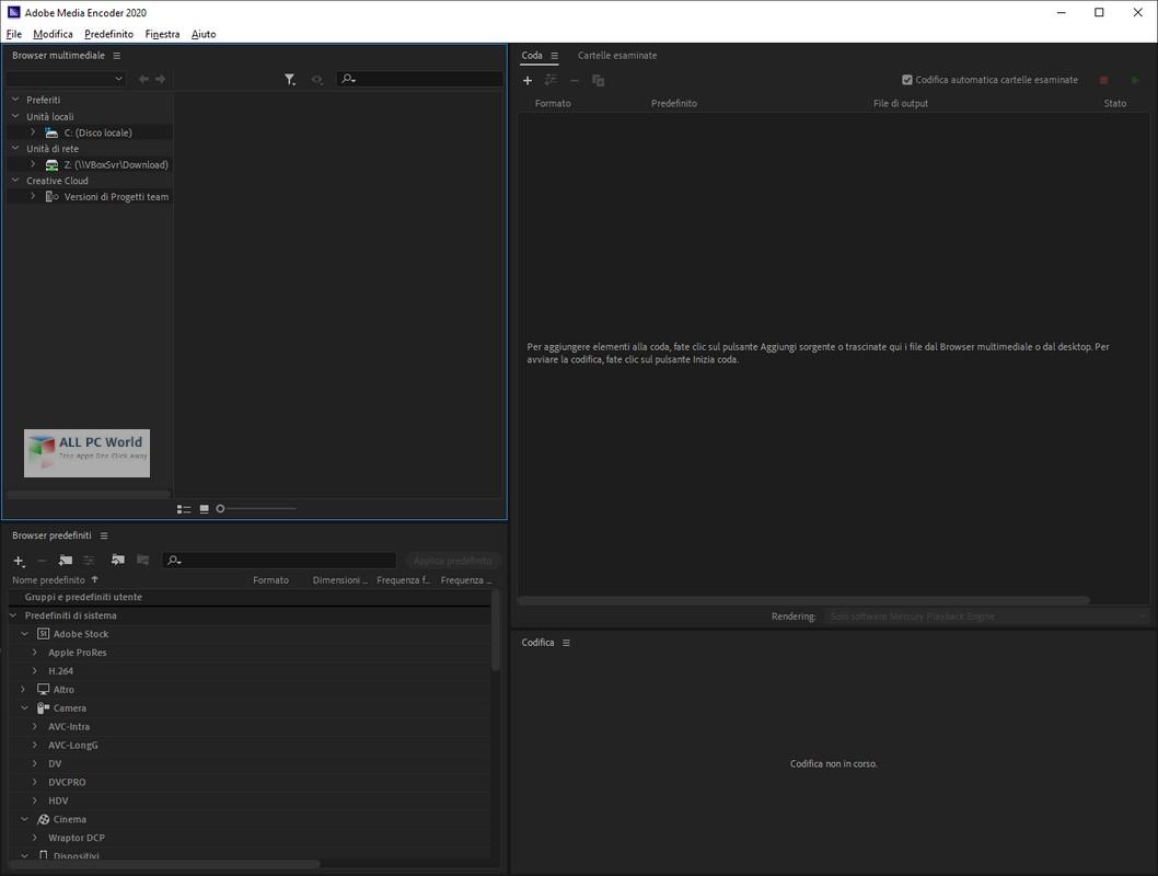 Adobe Media Encoder CC 2020 v14.0.1.70