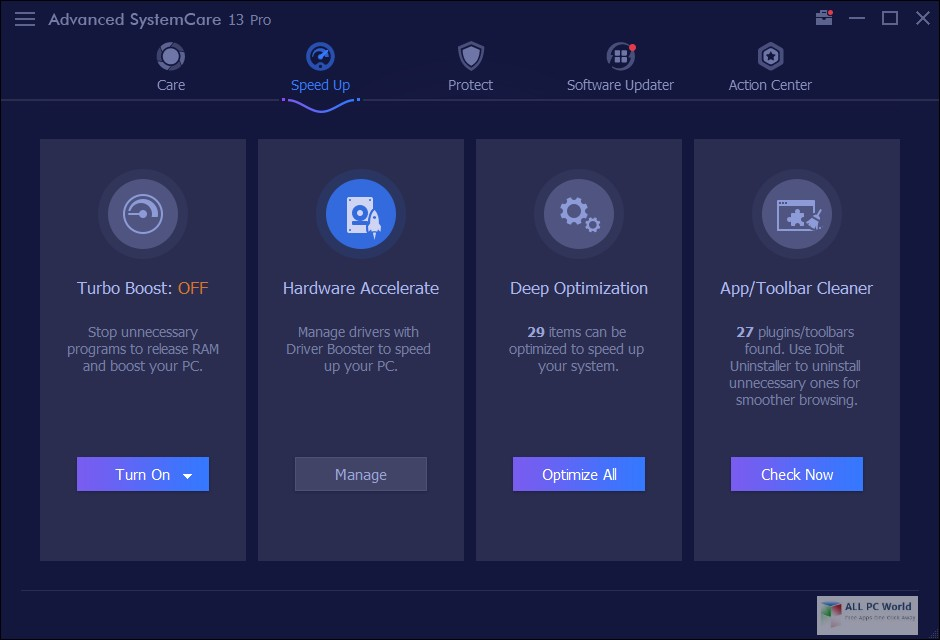 Advanced SystemCare Pro 13.1 Download