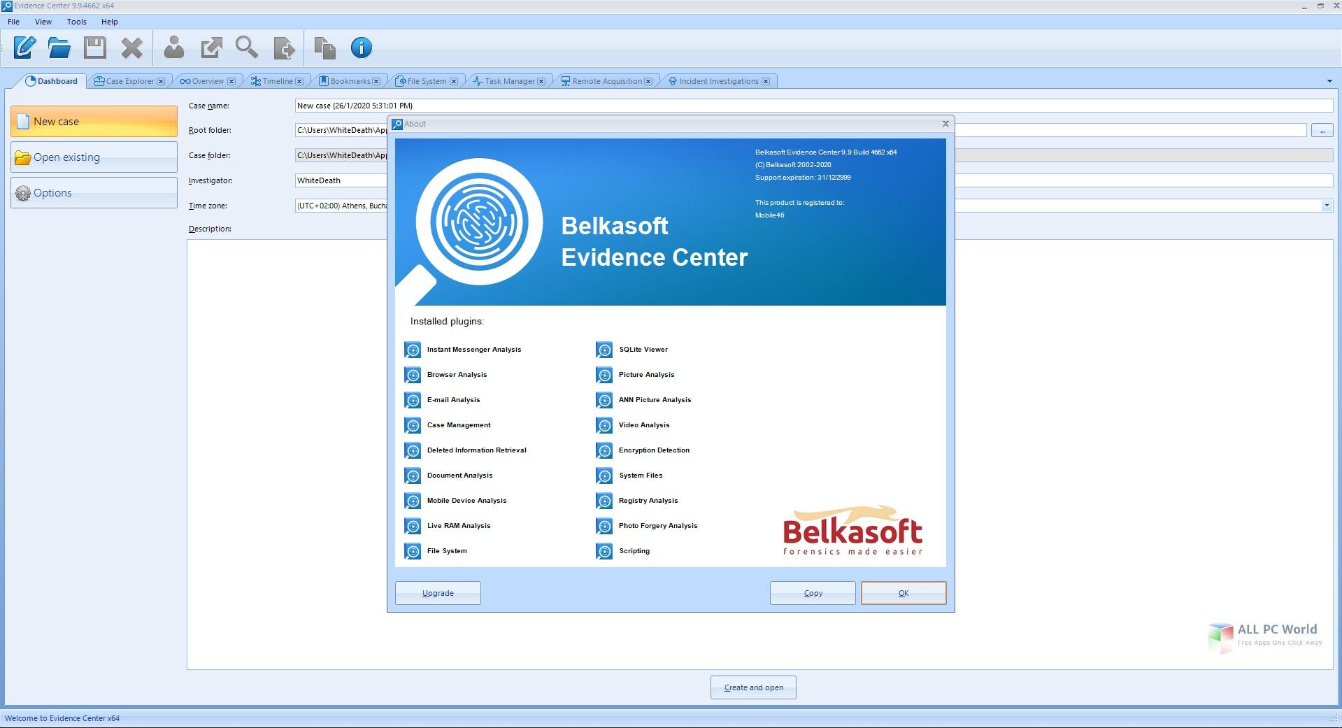 Belkasoft Evidence Center 2020 v9.9
