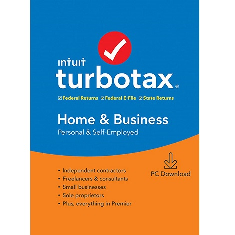 Download Intuit TurboTax Home & Business 2019
