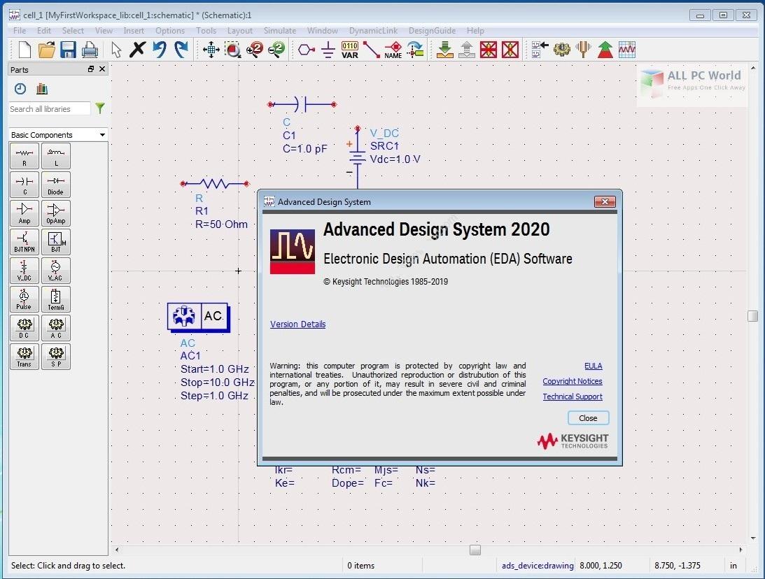 Keysight Advanced Design System (ADS) 2020