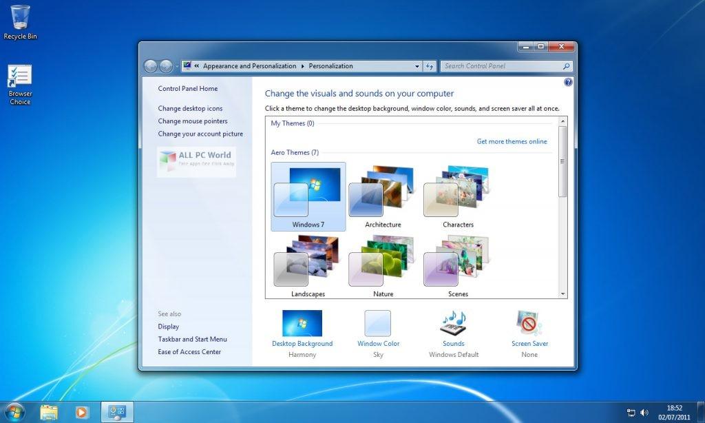 Microsoft Windows 7 SP1 AIO OEM ESD JAN 2020 Free Download