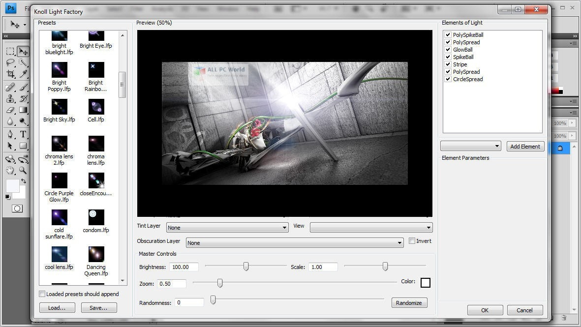 Red Giant Knoll Light Factory 3.2 for Adobe Photoshop Download