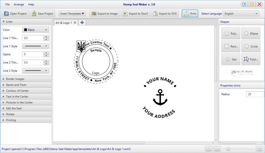 Stamp Seal Maker 3.2 Download