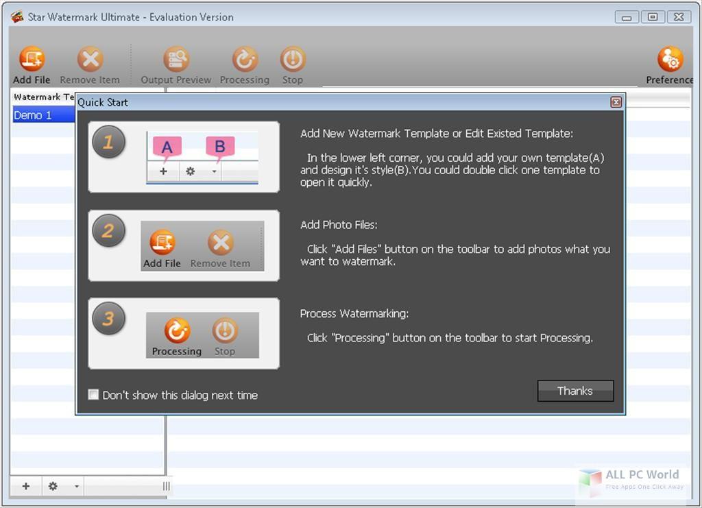 Star PDF Watermark Ultimate 2.0 Free Download