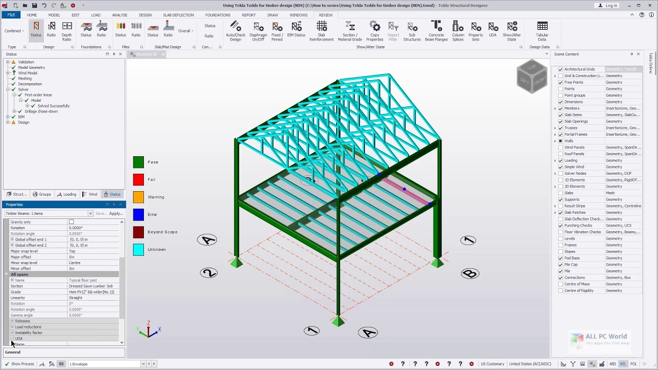 Tekla Structural Designer 2019i SP3 v19.1 Free Download