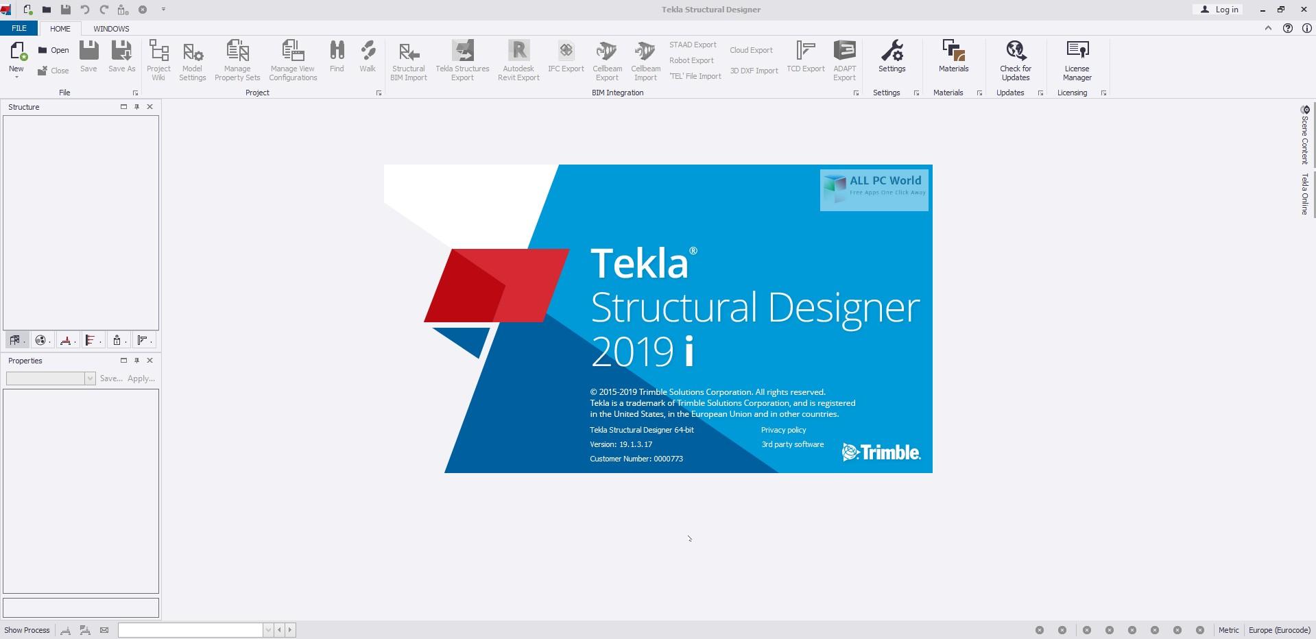 Tekla Structural Designer 2019i SP3 v19.1