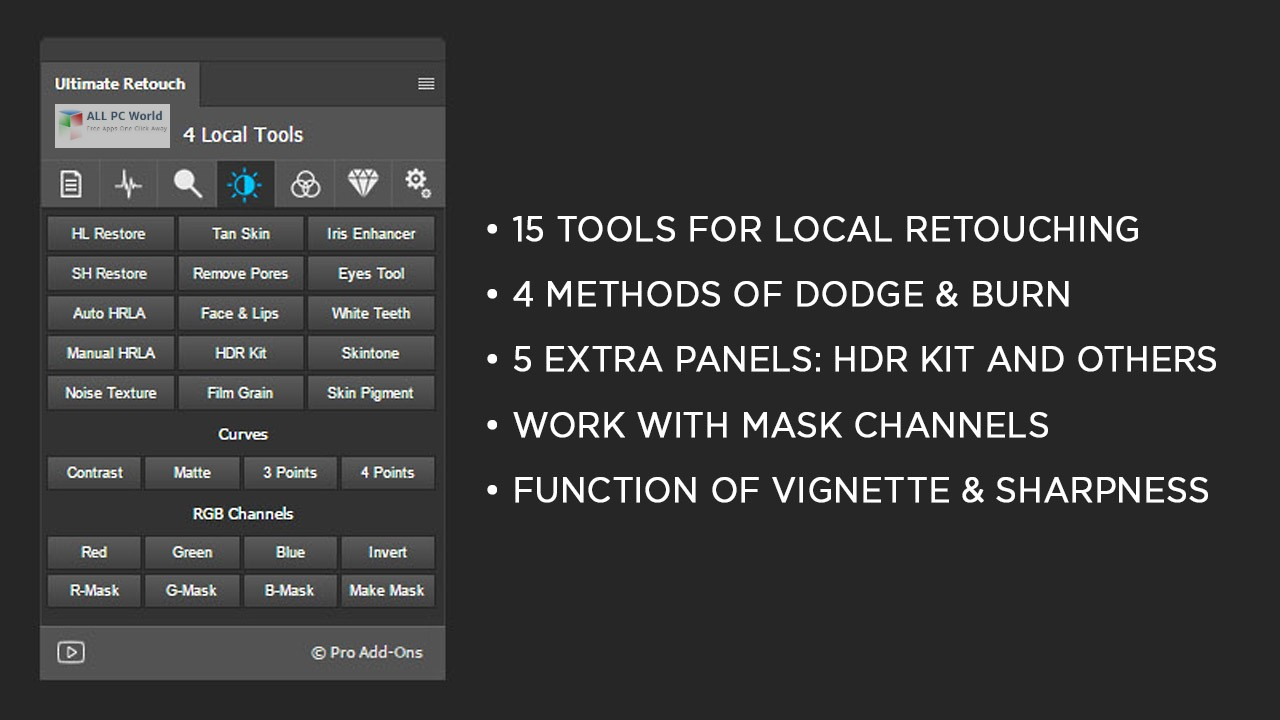 Ultimate Retouch Panel 3.8 for Adobe Photoshop