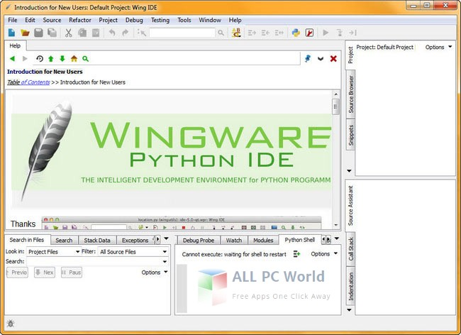 Wing IDE Pro 7.2 Free Download