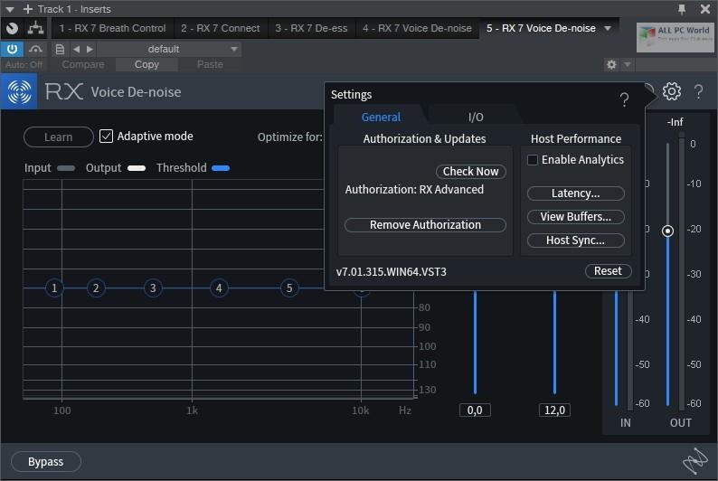 iZotope RX 7 Audio Editor Advanced 7.01 Download