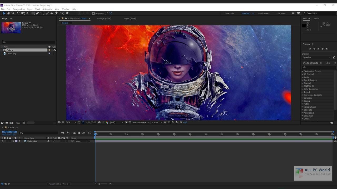 Adobe After Effects CC 2020 v17.0.3.58 Installer