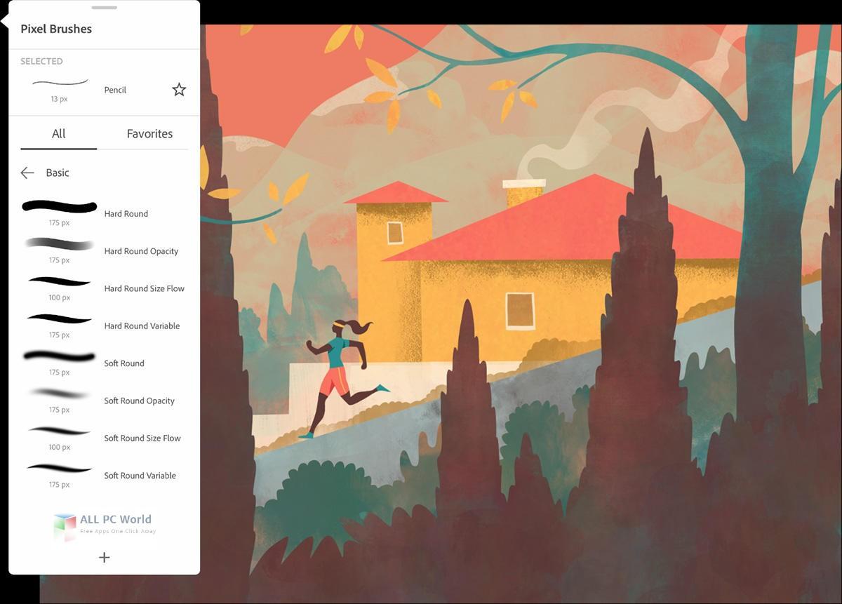 Adobe Fresco 1.3 Free Download