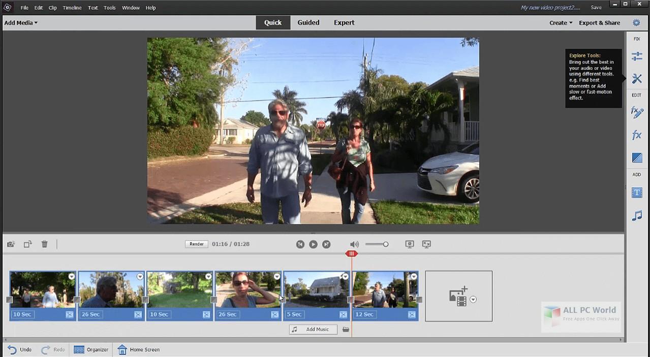 Adobe Premiere Elements 2020 v18.1 Download