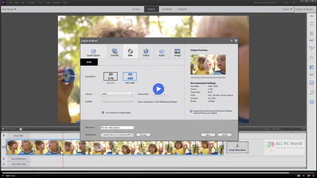 Adobe Premiere Elements 2020 v18.1