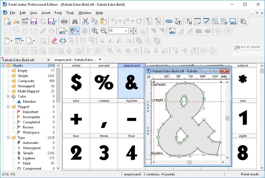 FontCreator Professional Edition 12.0