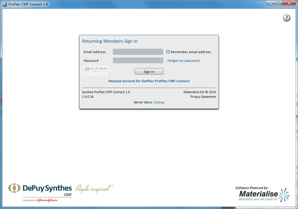 Materialise ProPlan CMF 3.0.1