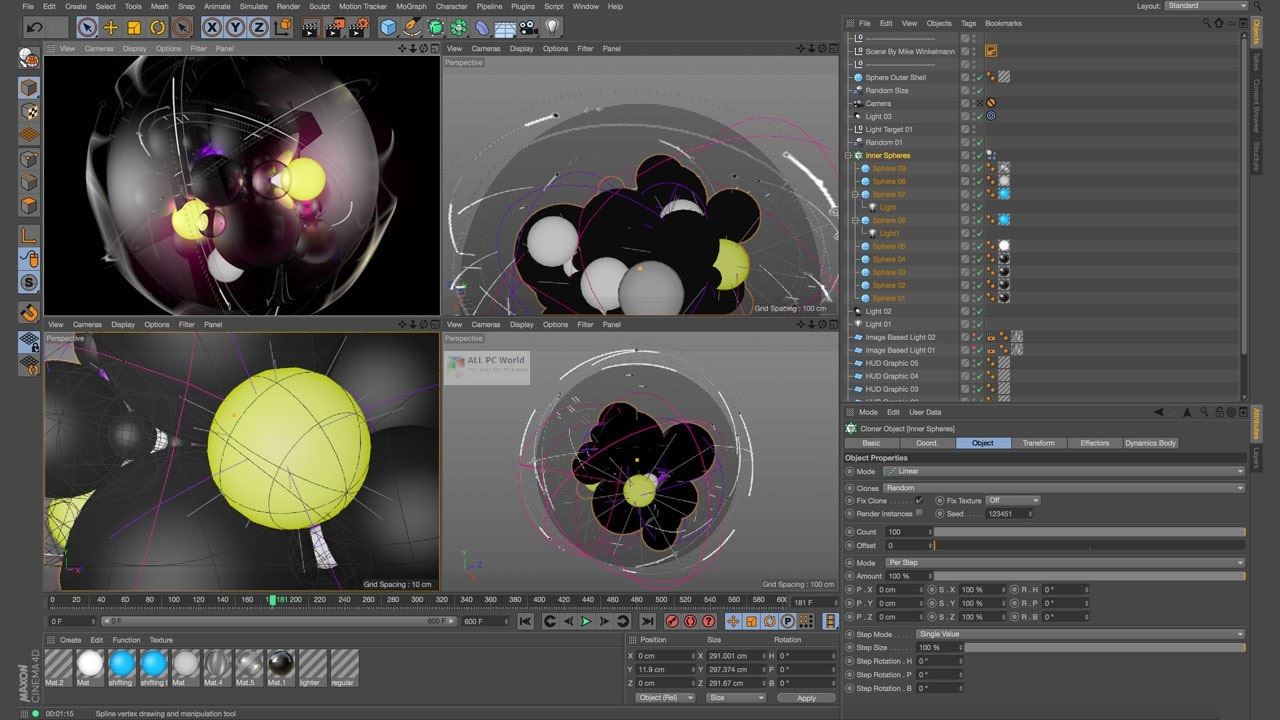 Maxon CINEMA 4D R21.207 Download