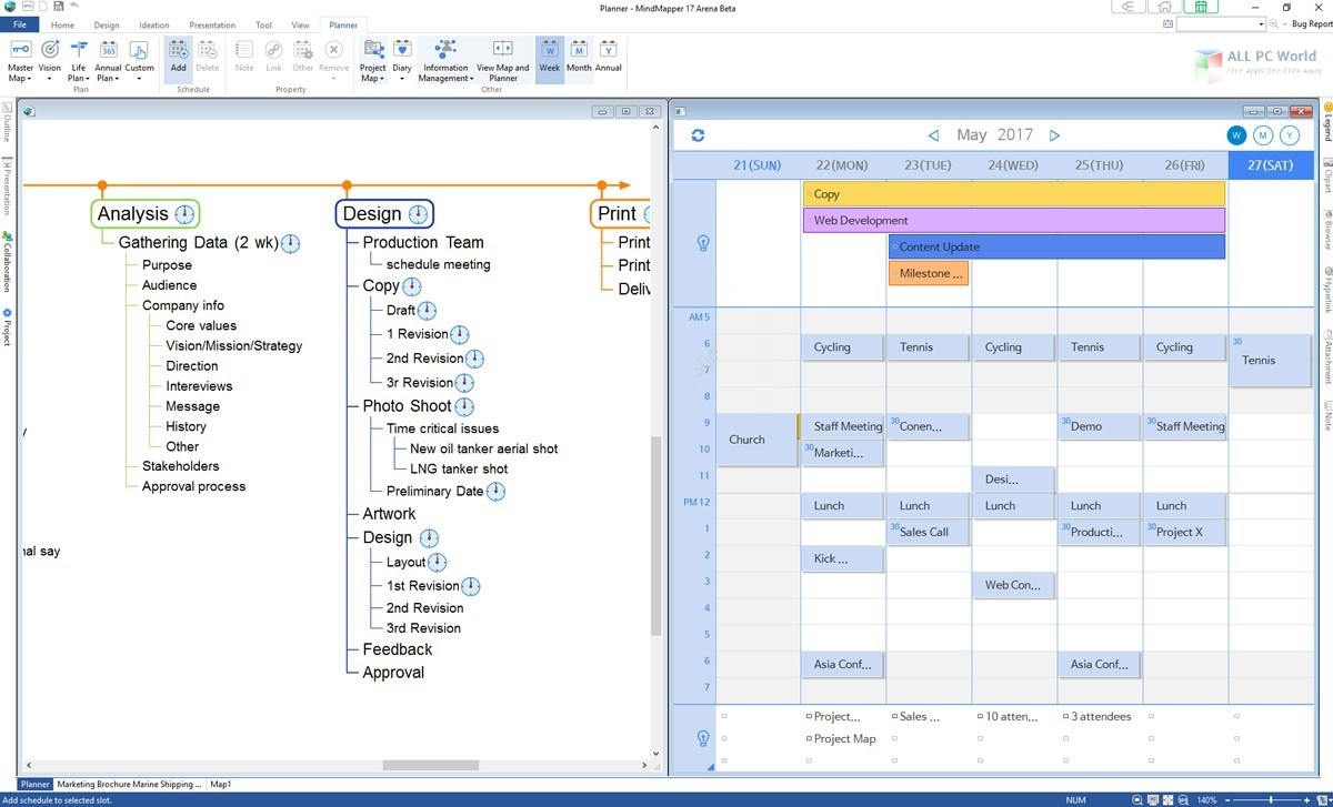 MindMapper 17.9 Free Download