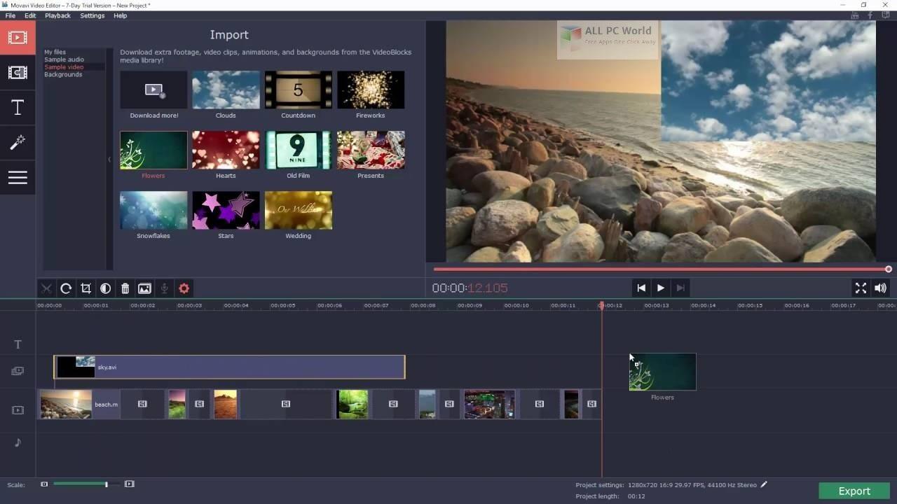 Movavi Video Editor Plus 2020 v20.2