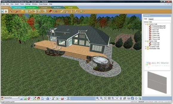 TurboFloorPlan 3D Home & Landscape Pro 2019 v20.0 Download