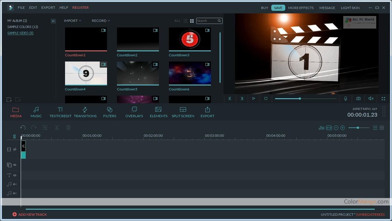 Wondershare Filmora 2020 v9.3.6.1 Offline Setup