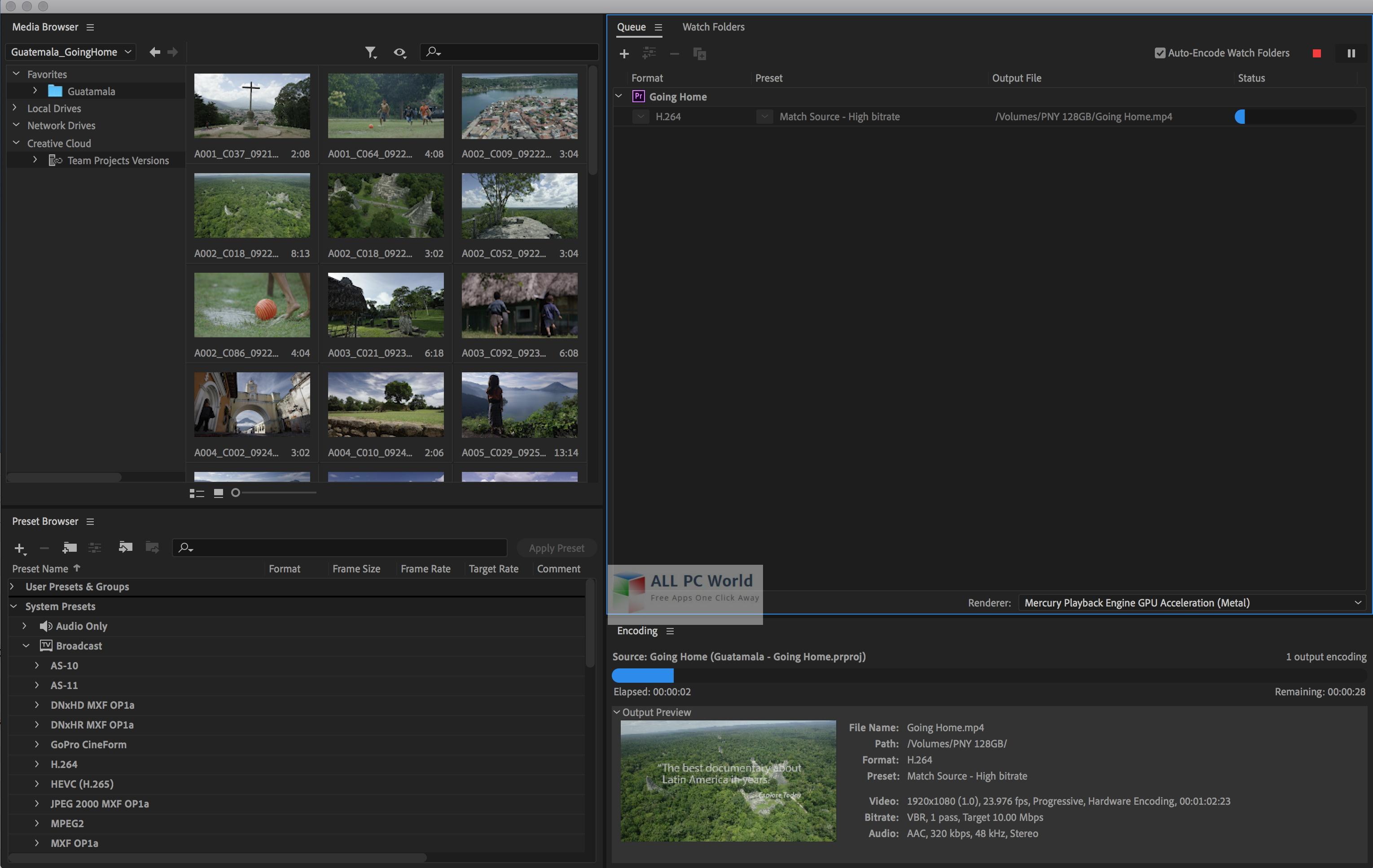 Adobe Media Encoder CC 2020 v14.0.4 Download