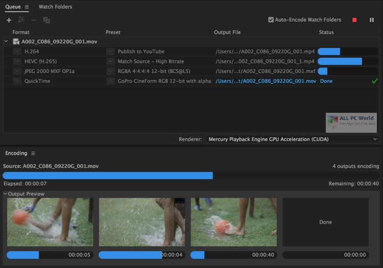 Adobe Media Encoder CC 2020 v14.0.4 Free Download