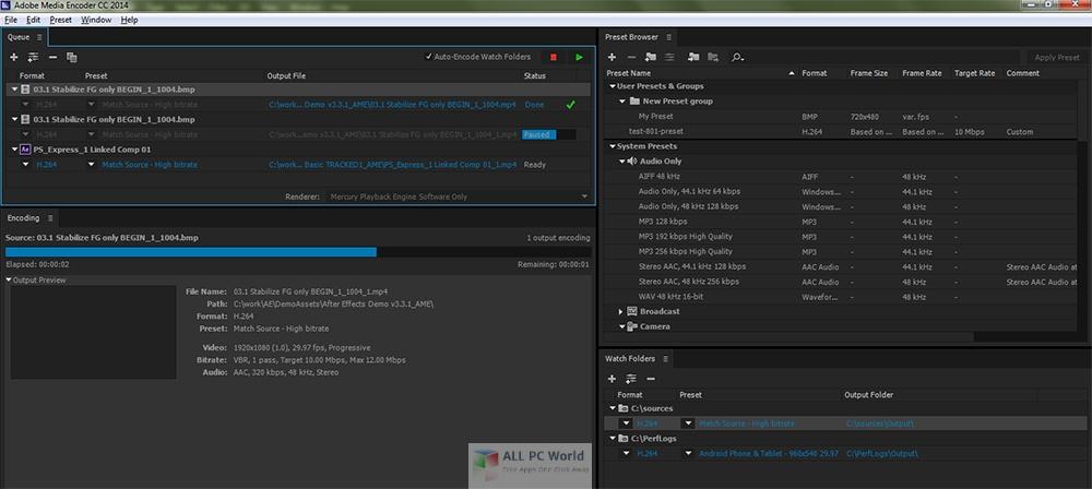 Adobe Media Encoder CC 2020 v14.0.4