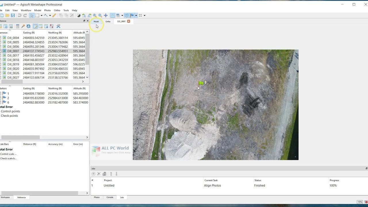 Agisoft Metashape Professional 1.6 Free Download