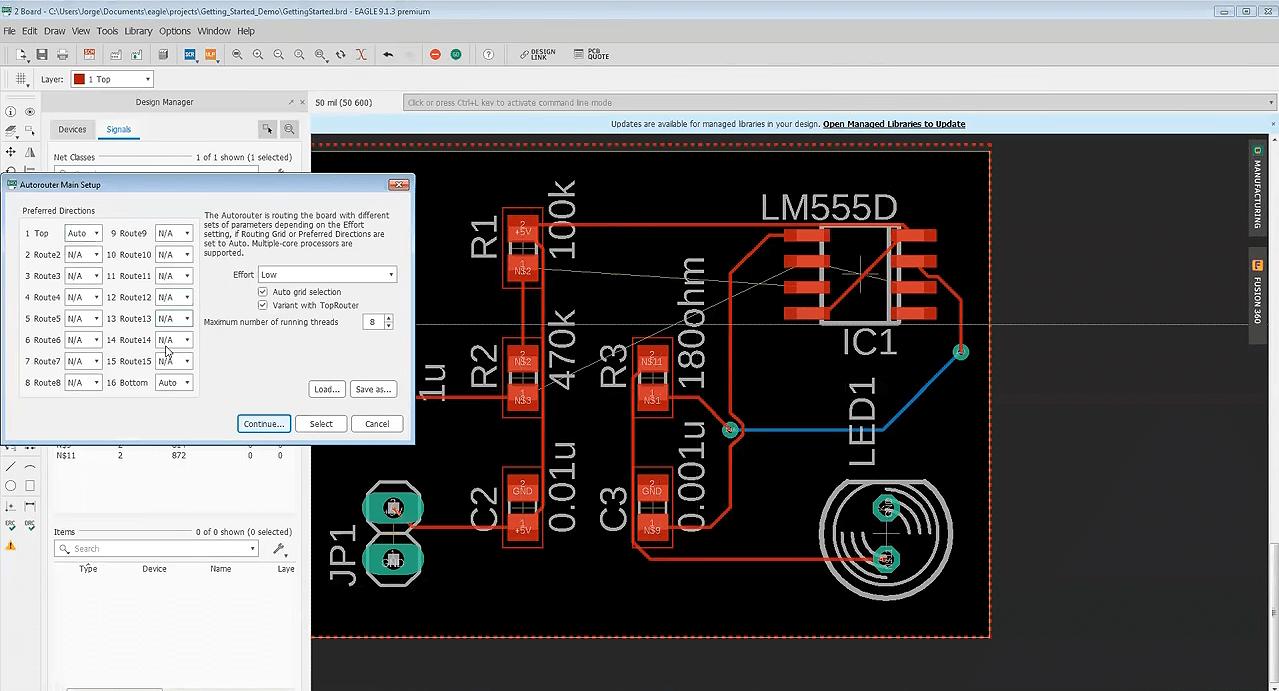 Autodesk EAGLE Premium 9.6 Free Download