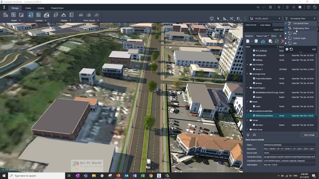 Autodesk InfraWorks 2020 Download