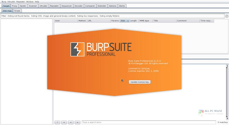Burp Suite Professional 2020