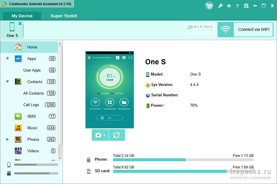 Coolmuster Android Assistant 4.7 Download