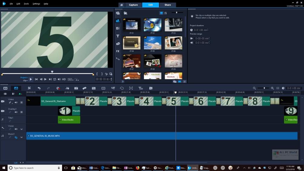 Corel VideoStudio Ultimate 2020 v23.0 Free Download