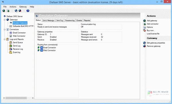 Diafaan SMS Server 4.2 Free Download