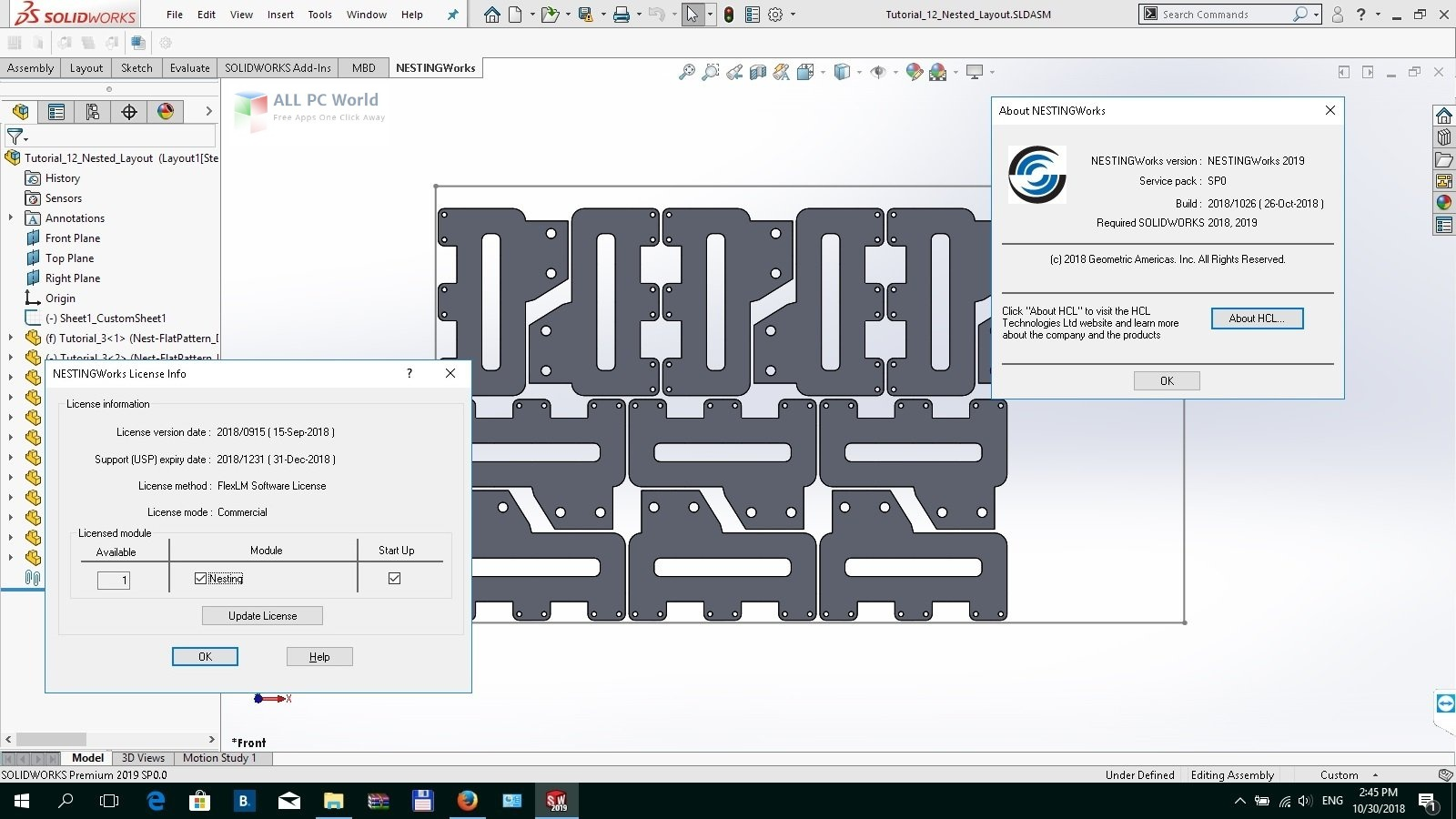 Geometric NestingWorks 2020 SP1 Download