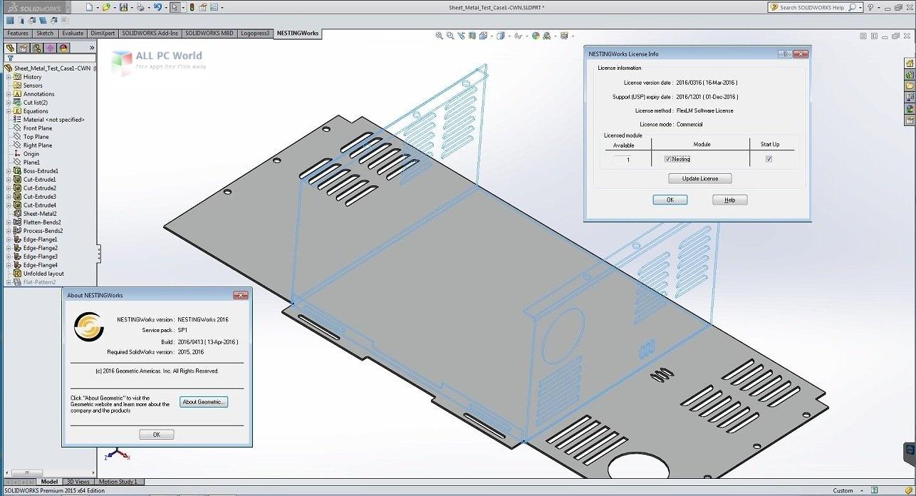 Geometric NestingWorks 2020 SP1 Free Download