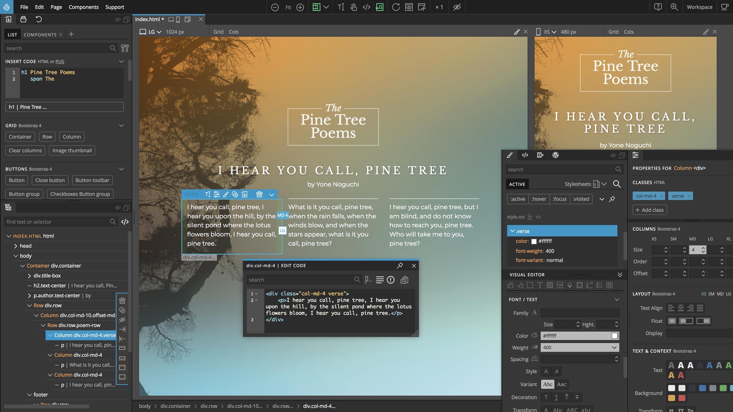 Humane Technologies Pinegrow Web Editor Pro 5.41