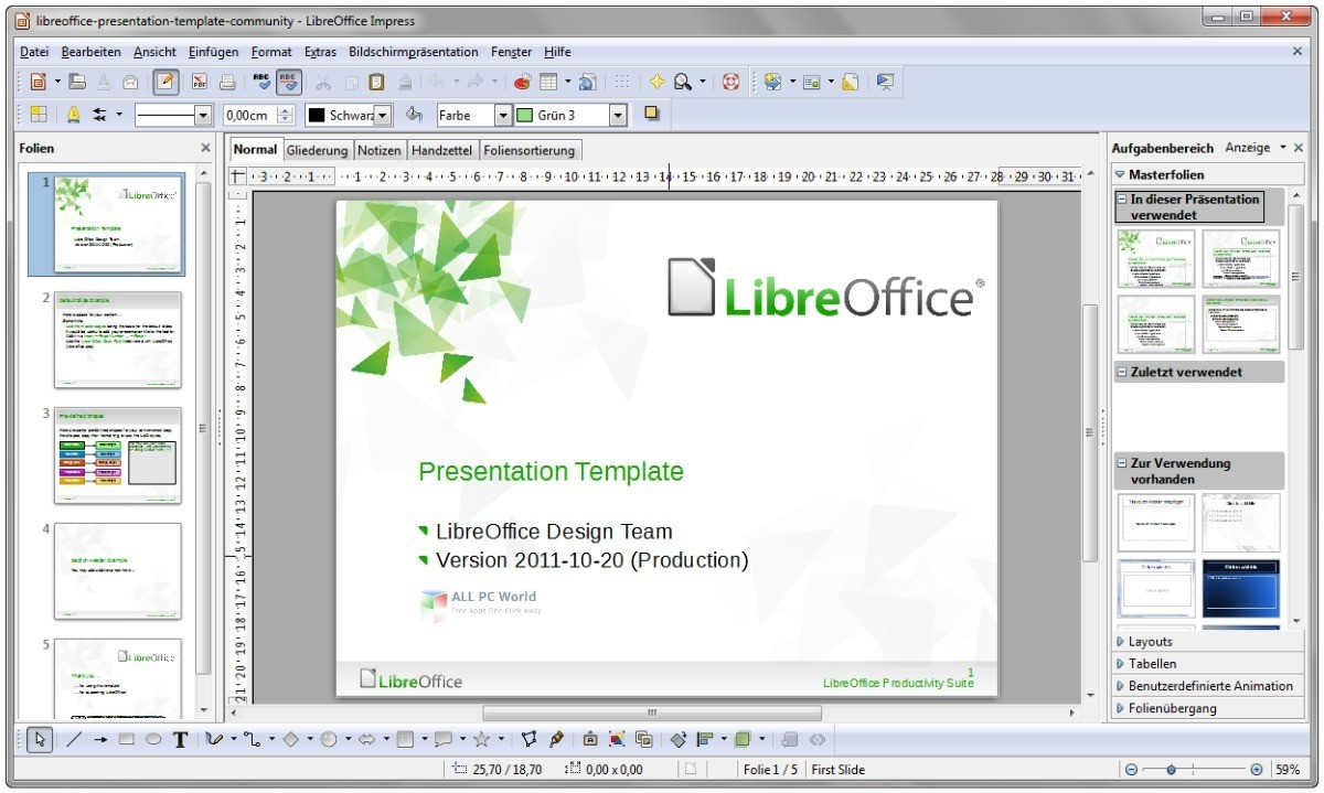 LibreOffice 6.4 for Windows