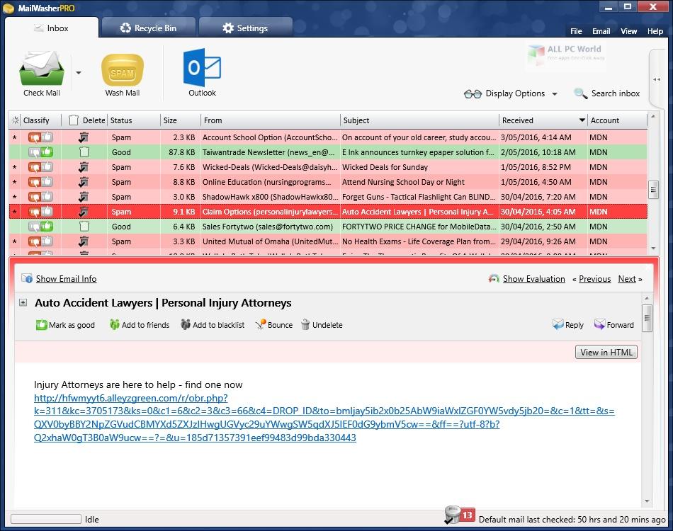 MailWasher Pro 7.12