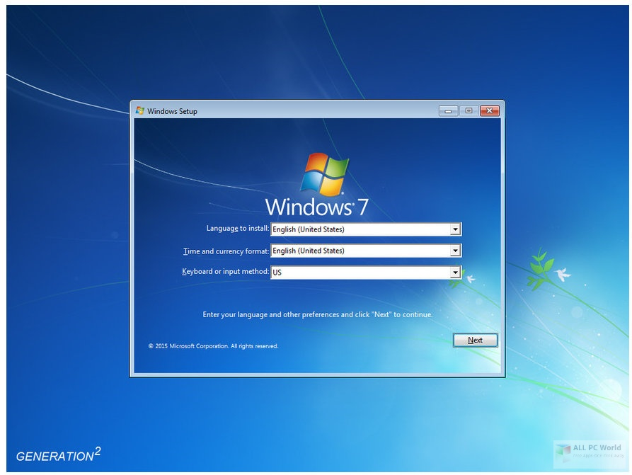 Microsoft Windows 7 Ultimate SP1 March 2020