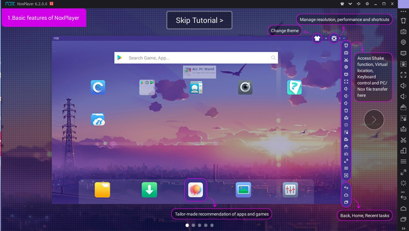 Nox App Player 6.6 Free Download