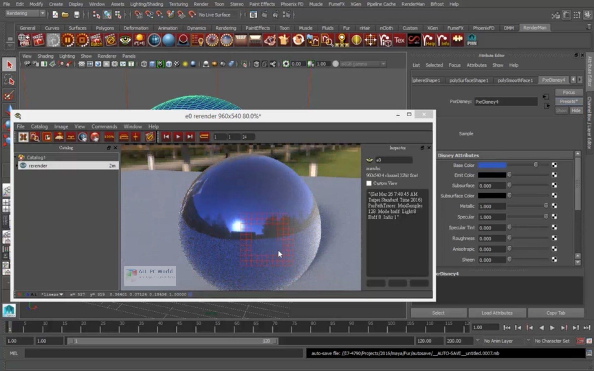 Pixar RenderMan v19.0 for Windows 10