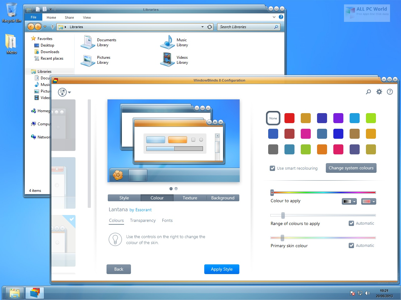 Stardock WindowBlinds 10.85 Free Download